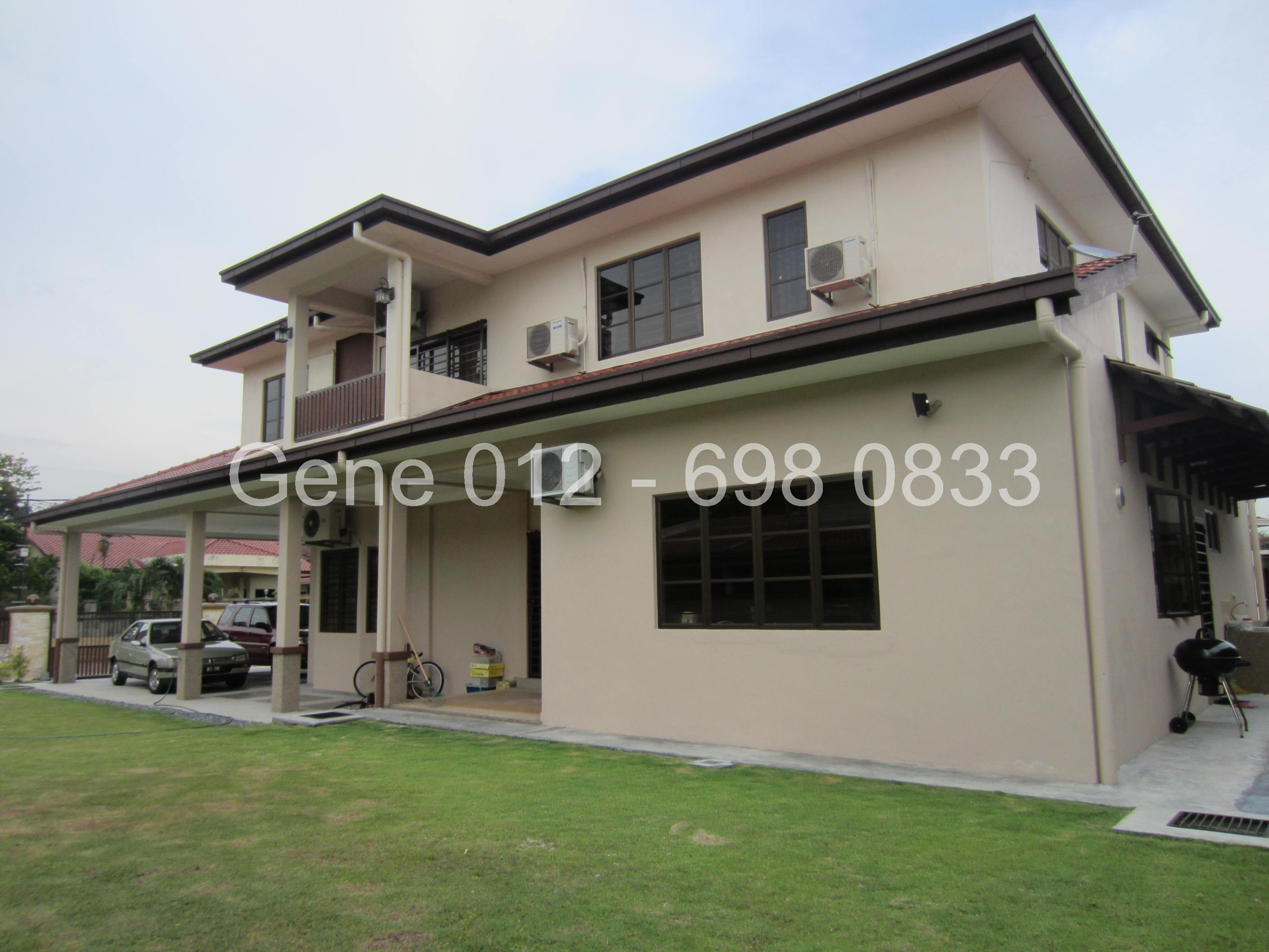 Bungalow for sale ss3 petaling jaya for Two storey bungalow