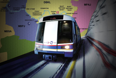 MRT Stations Malaysia